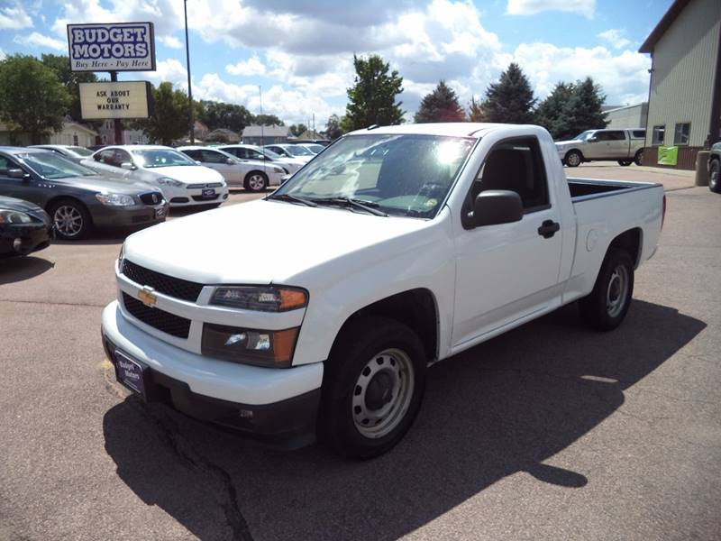 2012 Chevrolet Colorado 4x2 Work Truck 2dr Regular Cab - Sioux City IA