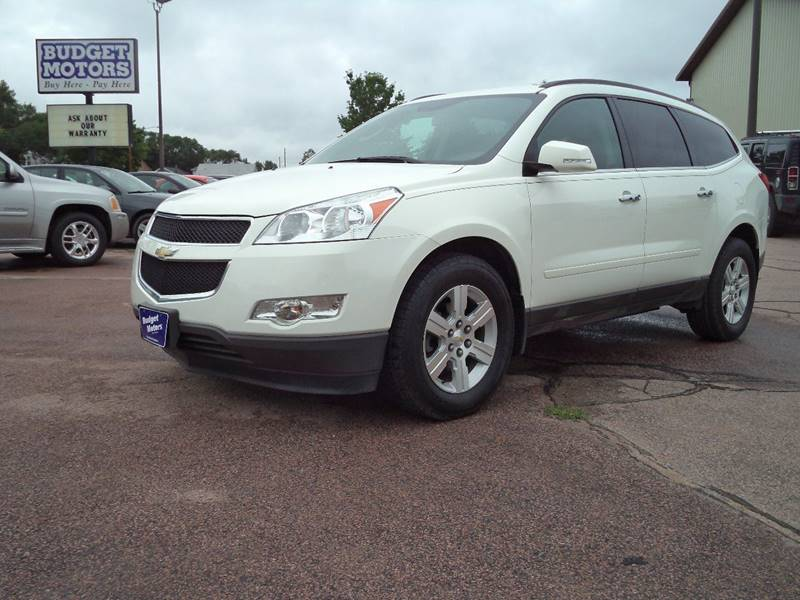 2012 chevrolet traverse awd lt 4dr suv w 1lt in sioux city ia budget motors. Black Bedroom Furniture Sets. Home Design Ideas