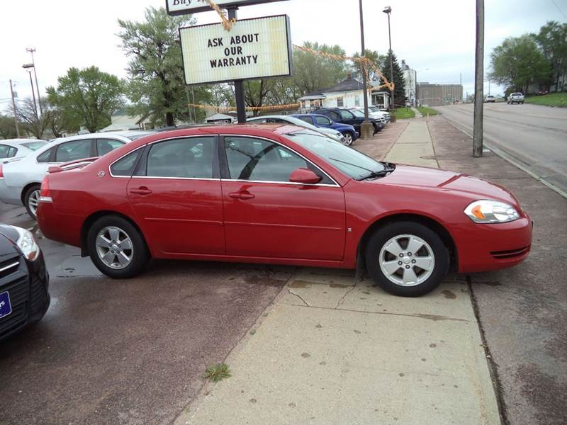 2008 Chevrolet Impala LT 4dr Sedan - Sioux City IA