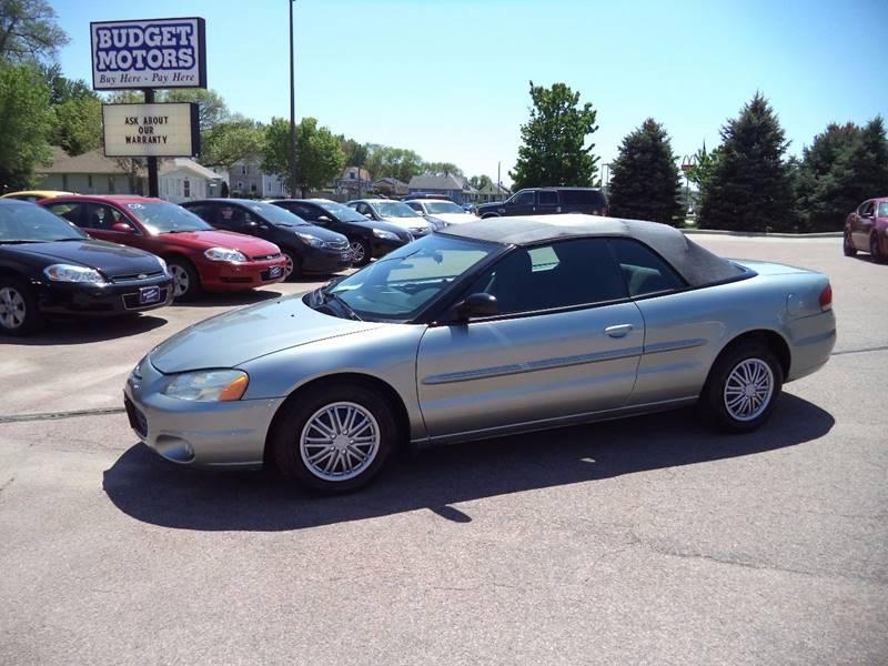 2004 Chrysler Sebring Base 2dr Convertible - Sioux City IA