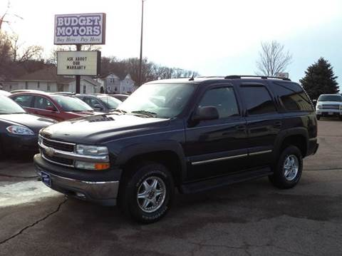 2005 Chevrolet Tahoe for sale at Budget Motors - Budget Acceptance in Sioux City IA