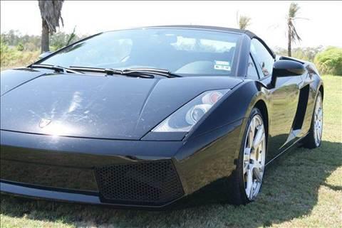 2008 Lamborghini Gallardo for sale at Bay Motors in Tomball TX