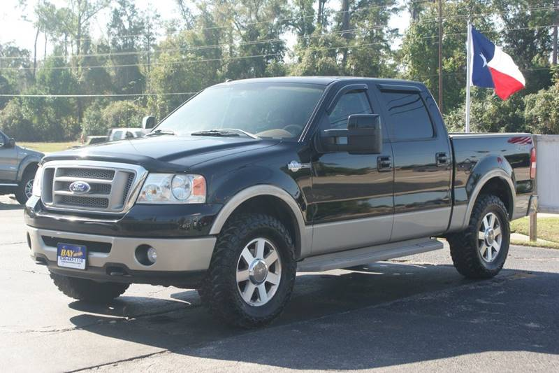 2008 ford f 150 4x4 king ranch 4dr supercrew styleside 5 5 ft sb in tomball tx bay motors. Black Bedroom Furniture Sets. Home Design Ideas