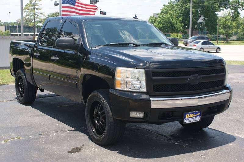 2008 chevrolet silverado 1500 2wd lt1 4dr crew cab 5 8 ft sb in tomball tx bay motors. Black Bedroom Furniture Sets. Home Design Ideas