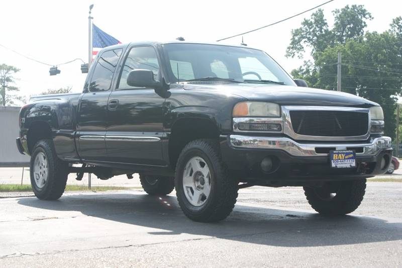 2003 gmc sierra 1500 4dr extended cab slt 4wd sb in