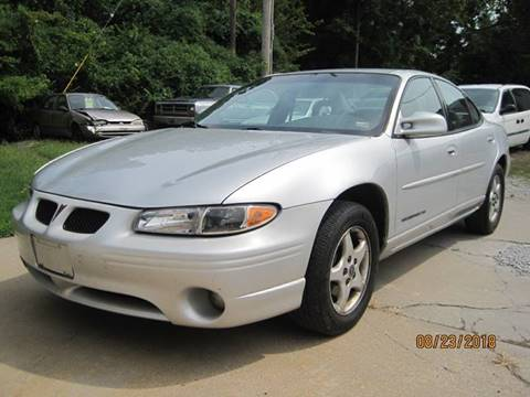 Used 2001 Pontiac Grand Prix For Sale In Missouri Carsforsale