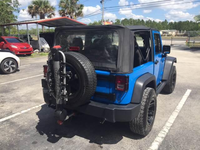 2012 Jeep Wrangler 4x4 Sport 2dr SUV - Orlando FL