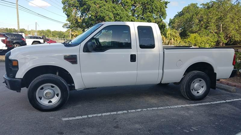 2009 Ford F-250 Super Duty 4x4 XL 4dr SuperCab 6.8 ft. SB Pickup - Orlando FL