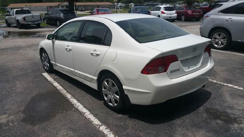 2008 Honda Civic LX 4dr Sedan 5A - Orlando FL