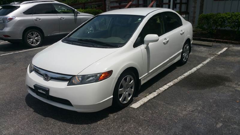 2008 Honda Civic LX 4dr Sedan 5A - Orlando FL