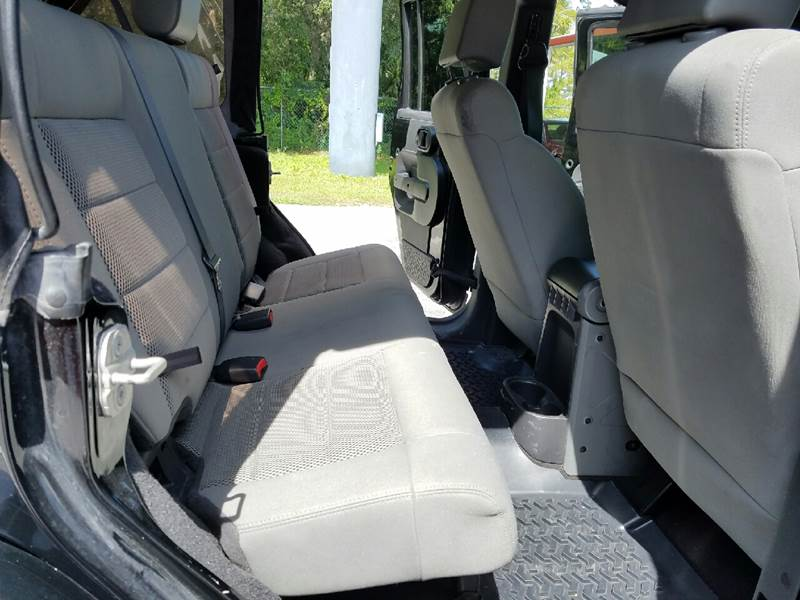 2008 Jeep Wrangler Unlimited 4x4 Sahara 4dr SUV w/Side Airbag Package - Orlando FL