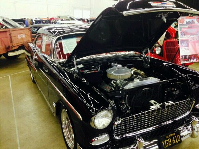 1955 chevrolet bel air coupe in waukegan il jack son auto sales. Black Bedroom Furniture Sets. Home Design Ideas