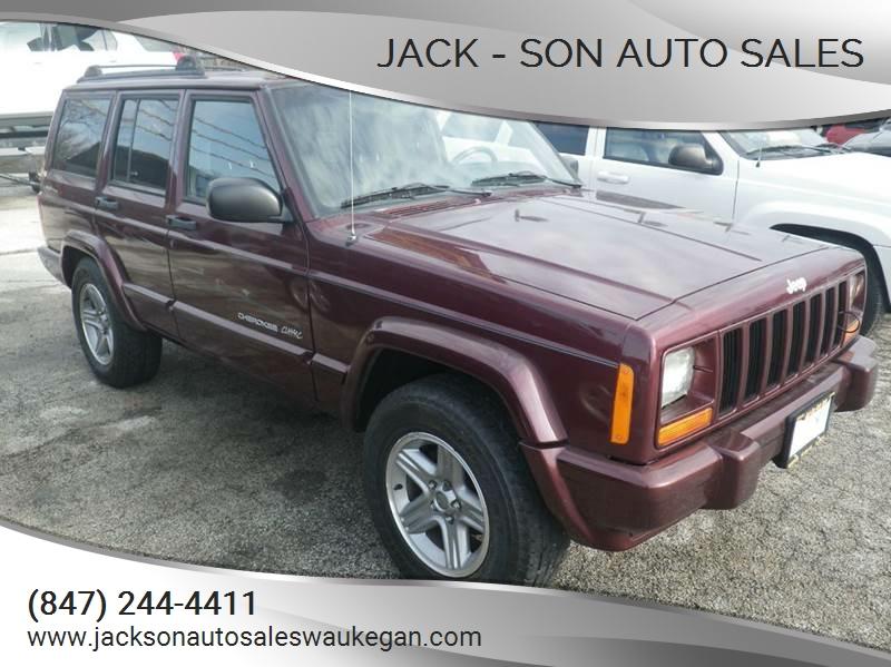 2000 jeep cherokee classic 4dr 4wd suv in waukegan il jack son auto sales. Black Bedroom Furniture Sets. Home Design Ideas