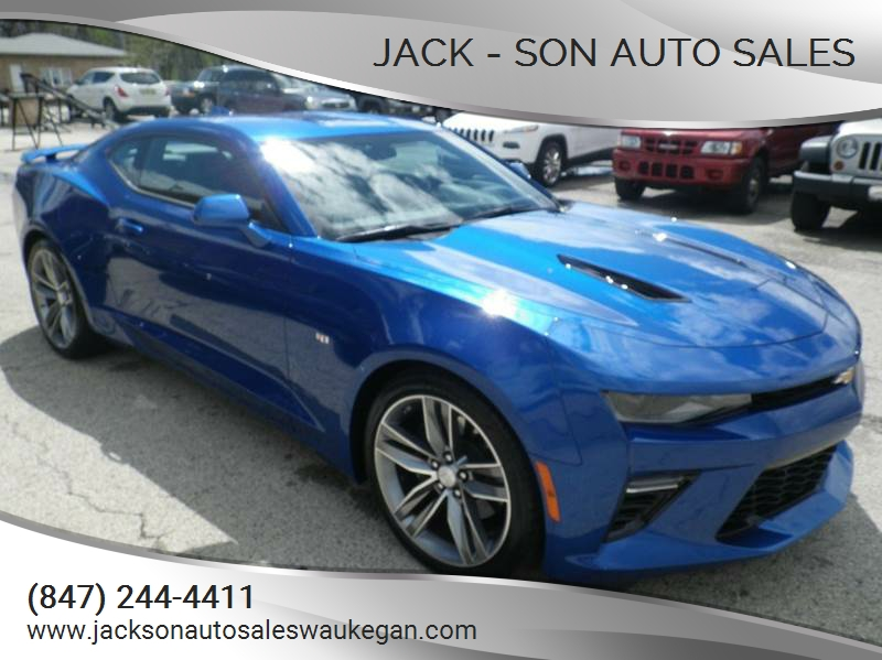 2016 chevrolet camaro ss 2dr coupe w 2ss in waukegan il jack son auto sales. Black Bedroom Furniture Sets. Home Design Ideas
