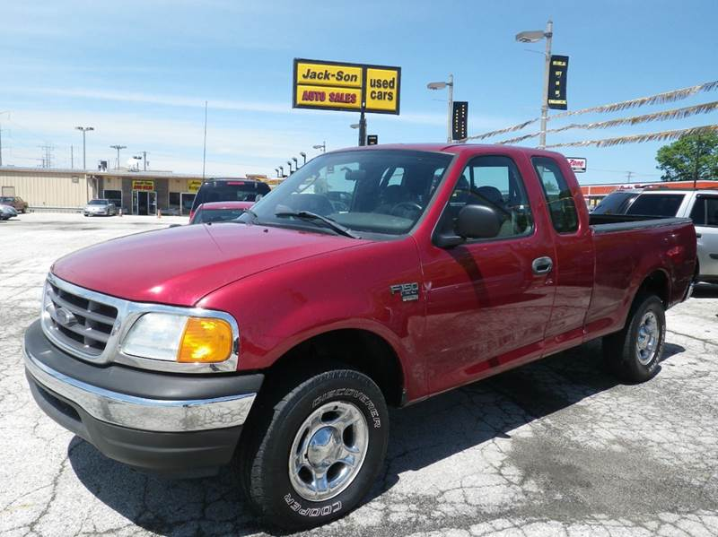 2004 ford f 150 heritage 4dr supercab xl 4wd styleside sb in waukegan il jack son auto sales. Black Bedroom Furniture Sets. Home Design Ideas