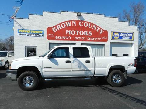 2004 Chevrolet Silverado 2500HD for sale at Brown County Motors in Russellville OH