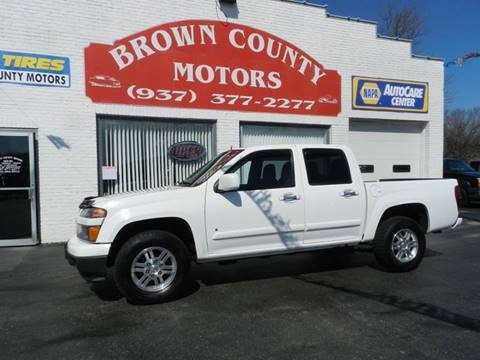 2009 chevrolet colorado for sale in rochester mn for Brown county motors russellville ohio