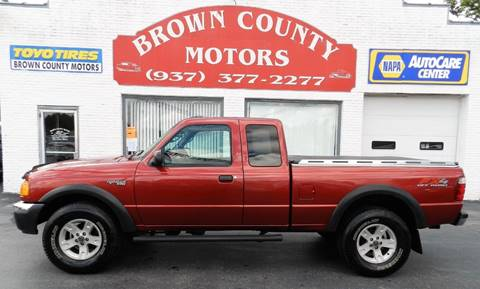 2004 Ford Ranger for sale at Brown County Motors in Russellville OH