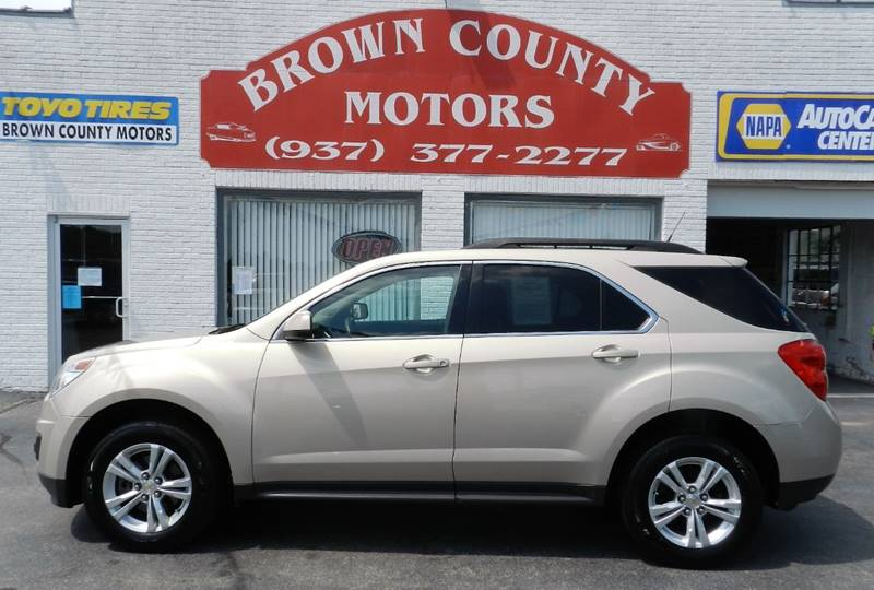 2011 Chevrolet Equinox Lt 4dr Suv W 1lt In Russellville Oh