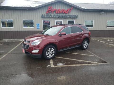 2016 Chevrolet Equinox LT for sale at Brandl of St. Cloud in Saint Cloud MN