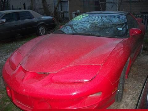 1999 Pontiac Firebird for sale in Houston, TX