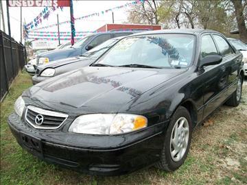 2002 Mazda 626 for sale in Houston, TX
