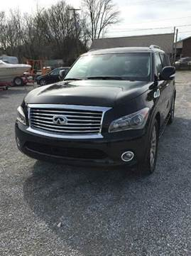 infiniti qx80 for sale in tennessee. Black Bedroom Furniture Sets. Home Design Ideas