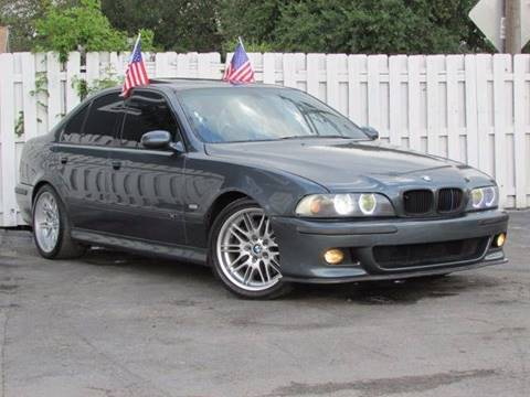2000 BMW M5 for sale in Hollywood, FL