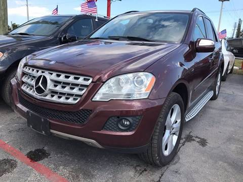 2009 Mercedes-Benz M-Class for sale in Hollywood, FL