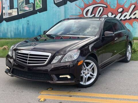 2011 Mercedes-Benz E-Class for sale at Palermo Motors in Hollywood FL