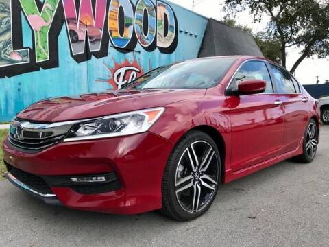 2016 Honda Accord for sale in Hollywood, FL