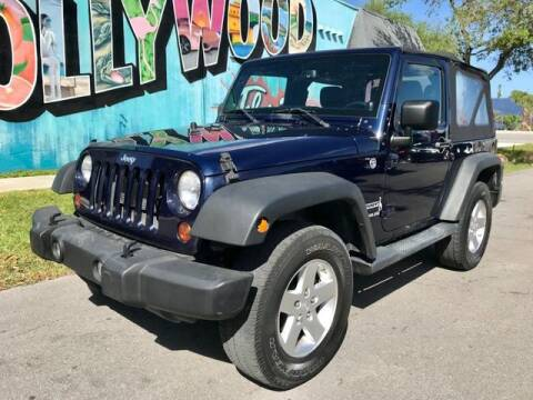 2013 Jeep Wrangler for sale at Palermo Motors in Hollywood FL