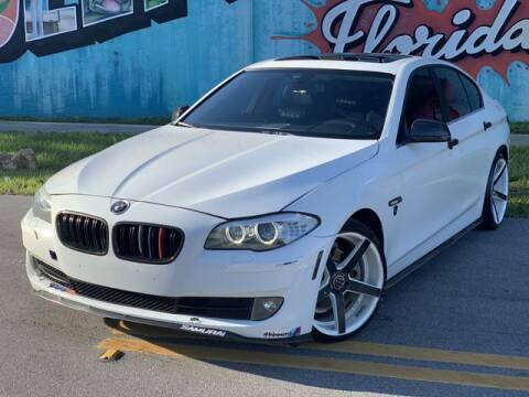 2011 BMW 5 Series for sale at Palermo Motors in Hollywood FL