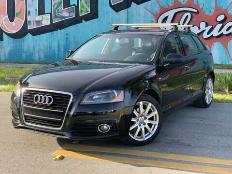 2013 Audi A3 for sale at Palermo Motors in Hollywood FL