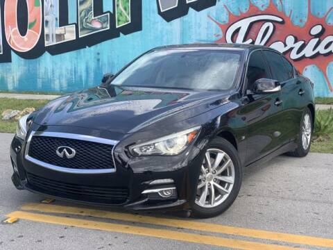 2015 Infiniti Q50 for sale at Palermo Motors in Hollywood FL