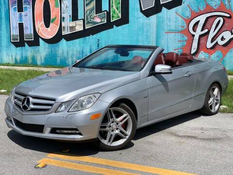 2012 Mercedes-Benz E-Class for sale at Palermo Motors in Hollywood FL
