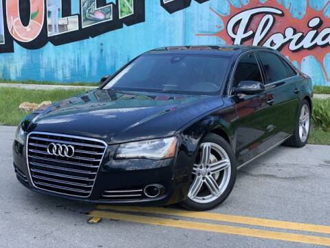 2013 Audi A8 L for sale at Palermo Motors in Hollywood FL