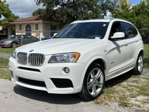 2013 BMW X3 for sale at Palermo Motors in Hollywood FL