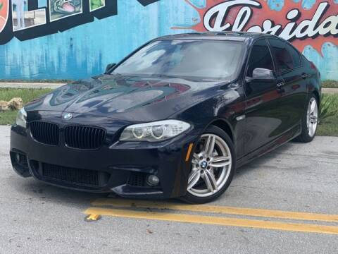 2013 BMW 5 Series for sale at Palermo Motors in Hollywood FL