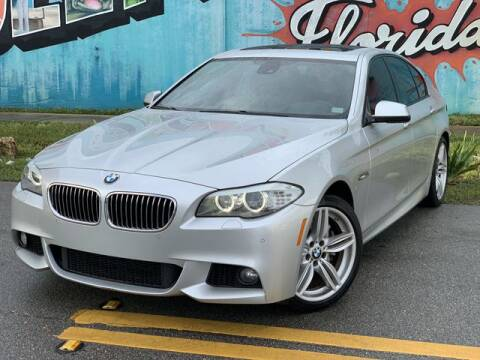 2012 BMW 5 Series for sale at Palermo Motors in Hollywood FL
