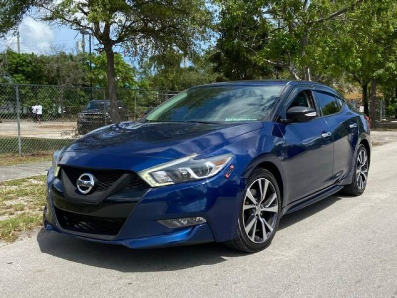 2016 Nissan Maxima for sale at Palermo Motors in Hollywood FL