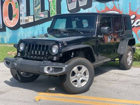 2018 Jeep Wrangler JK Unlimited for sale at Palermo Motors in Hollywood FL