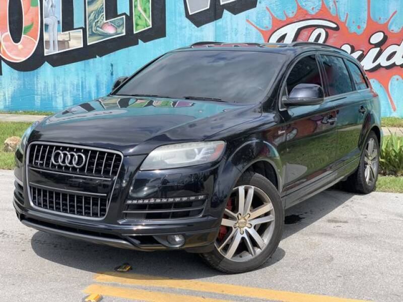 2014 Audi Q7 for sale at Palermo Motors in Hollywood FL