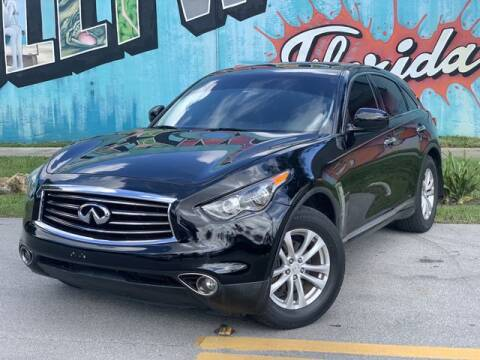 2013 Infiniti FX37 for sale at Palermo Motors in Hollywood FL