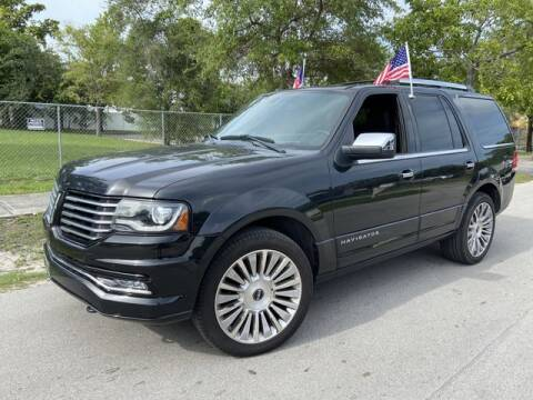 2015 Lincoln Navigator for sale at Palermo Motors in Hollywood FL