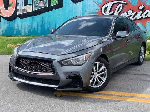 2017 Infiniti Q50 for sale at Palermo Motors in Hollywood FL