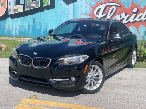 2016 BMW 2 Series for sale at Palermo Motors in Hollywood FL