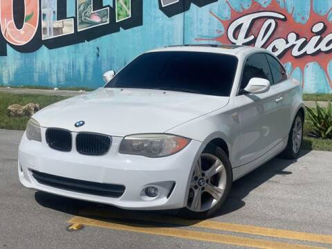 2013 BMW 1 Series for sale at Palermo Motors in Hollywood FL
