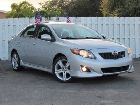 2009 Toyota Corolla for sale in Hollywood, FL