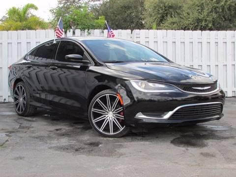 2015 Chrysler 200 for sale in Hollywood, FL